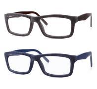 Velvet spectacles isolated on white background Stock Photos