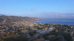 The Harbor of Puerto Lopez Stock Footage