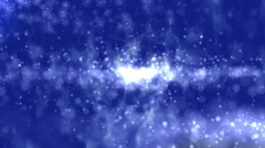 Particles Lightning Abstract Background - stock footage