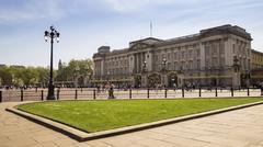 Buckingham Palace in London Kuvituskuvat