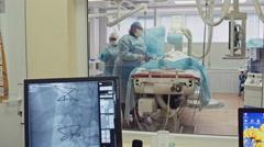 Cardiac Bypass Surgery Stock Footage