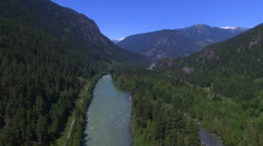 Trees, Rivers and Mountains 3 Stock Footage