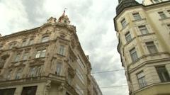 CZECH REPUBLIC - Brno old city street building architecture Stock Footage