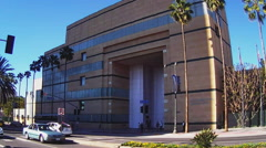 Los Angeles County Museum Of Art Building- Los Angeles CA Stock Footage