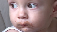 HD - Funny baby Stock Footage