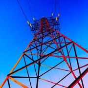 High voltage post Stock Illustration