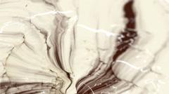 Mix of liquid Chocolate and Milk - Seamless Loop.  Stock Footage