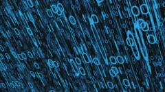 Abstract cyber security concept Stock Footage