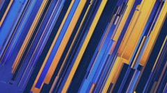 Abstract gold and blue corporate background Stock Footage