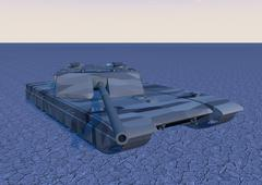 Tank T2 Stock Illustration