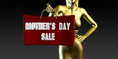 Mothers Day Sale - stock illustration