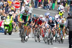 Cadel Evans Great Ocean Road Race Stock Photos