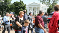 Hazaras Afghan Minority Protest at White House Arkistovideo