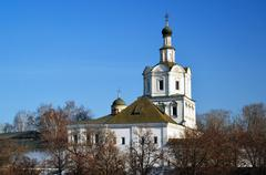 Spaso-Andronikov Monastery in Moscow, Russia Stock Photos