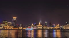 Cityscape of Shanghai Stock Footage