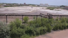 Industrial waste Stock Footage