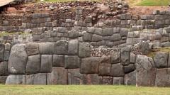 PERU: Sacsayhuaman (Inca City, Cuzco, Peru) Stock Footage