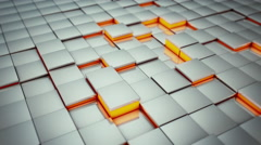 Abstract Cubes Move, 3d Animation 4k - stock footage