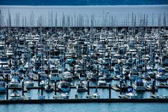 Northwest United States Marina - stock photo