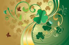 St Patricks Day Design Stock Illustration