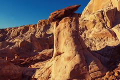 Sandstone formations - stock photo