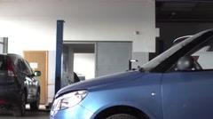 Professional car mechanic, auto repair concept. Stock Footage