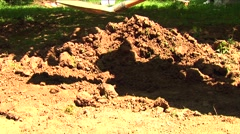 Man digging 05 Stock Footage