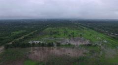 Denton Creek Texas Flood Stock Footage