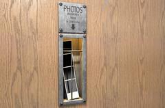 Vintage Photo Booth Pickup Slot - stock illustration
