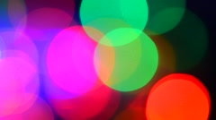 Colorful abstract video background. Colorful lights, blurred - stock footage