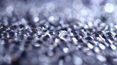 Diamonds background. Rotating diamonds Stock Footage