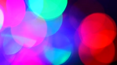 Colorful abstract video background. Colorful lights, blurred,video clip Stock Footage