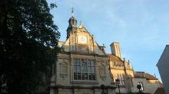 Oxford George Street Timelapse - stock footage