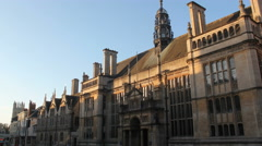 Oxford High Street Timelapse Stock Footage
