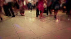 People Dancing Native Balkan Dance 05 - stock footage