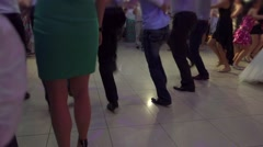 People Dancing Native Balkan Dance 12 - stock footage