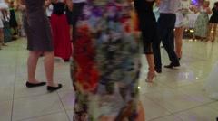 People Dancing Native Balkan Dance 15 - stock footage