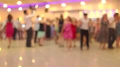 People Dancing Native Balkan Dance 18 - stock footage