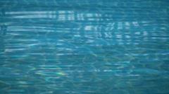 Pool waves 01 - stock footage