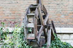 Water mill - stock photo