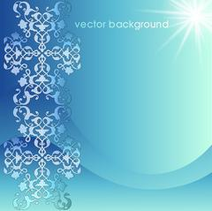 Decorative cover template Stock Illustration