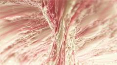 Strawberry Flavored Milk - Seamless Loop.  Stock Footage
