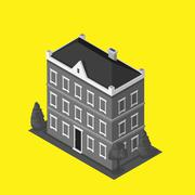 Skyscrapers House Building Icon Stock Illustration