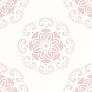 Floral Fine Seamless Pattern Stock Illustration