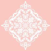 Oriental Abstract Pattern - stock illustration