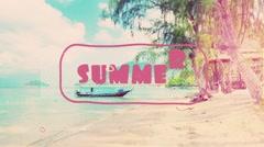 Summer-Dynamic Slideshow Kuvapankki erikoistehosteet