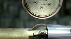 Manufacture of metal flues and vent systems. Welding of joint - stock footage