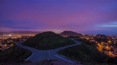 Landscape of Twin Peaks Stock Footage