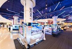 Sony store in Siam Paragon, Bangkok City - stock photo