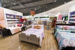 bed clothes, Siam Paragon mall, Bangkok - stock photo